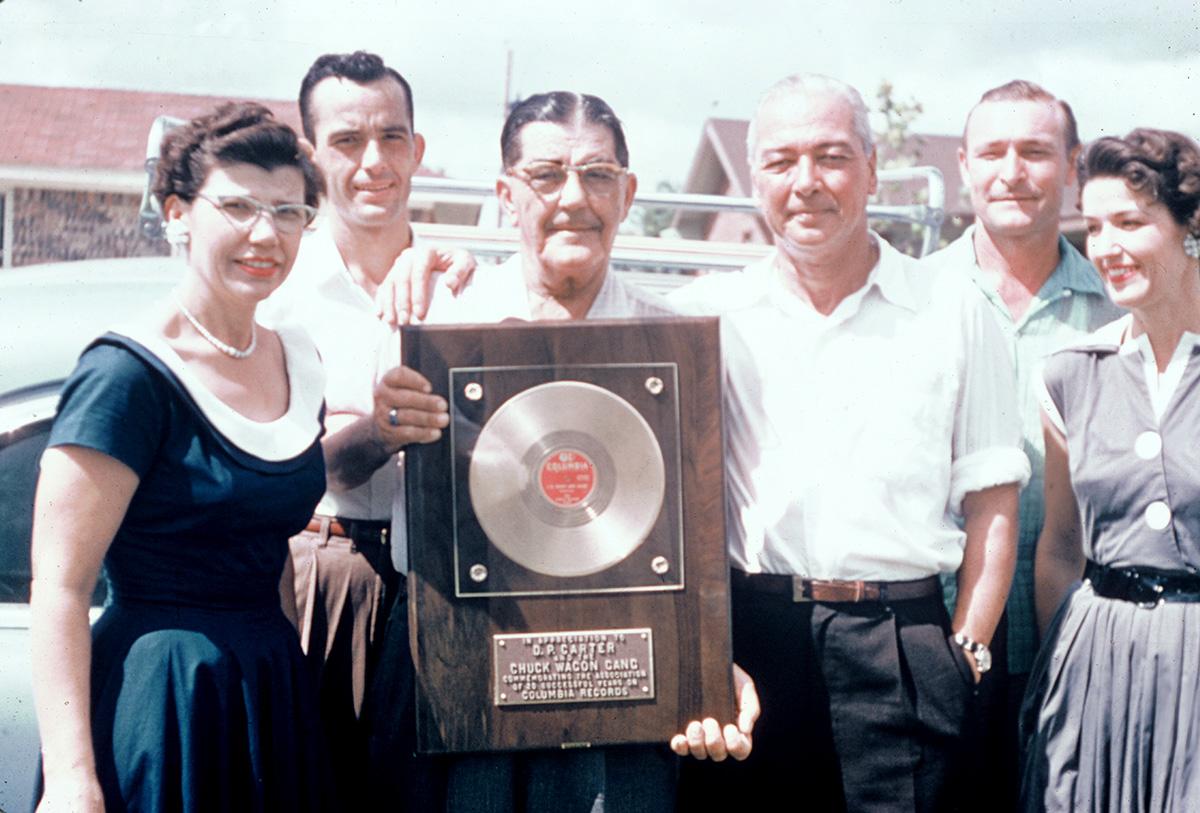 The Chuck Wagon Gang, 20 years on Columbia Records