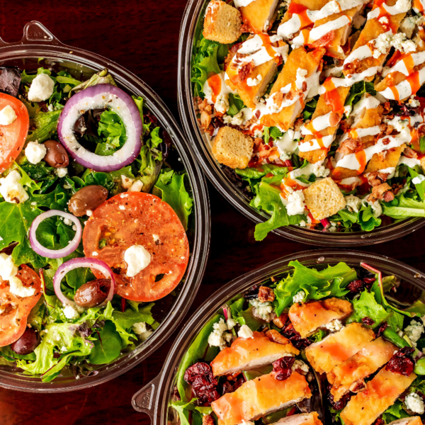 Try our loaded salads