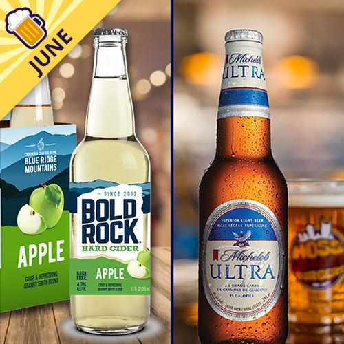 Bold Rock Hard Cider, Michelob Ultra