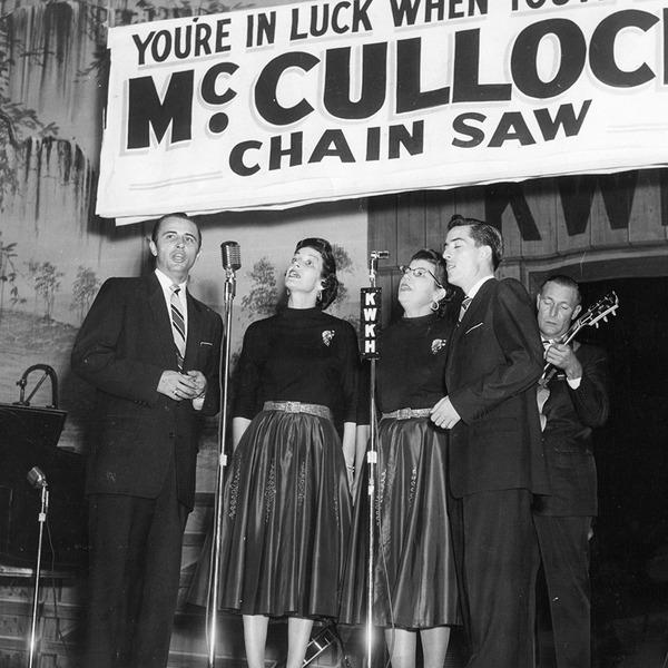 The Chuck Wagon Gang perform on KWKH