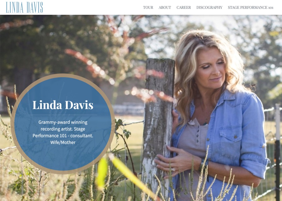 Linda Davis website