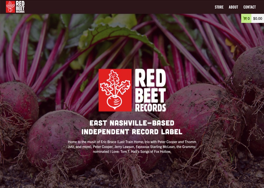 Red Beet Records website