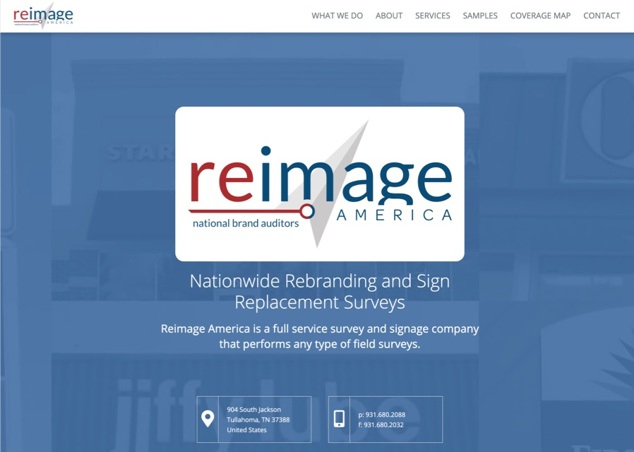 Reimage America website